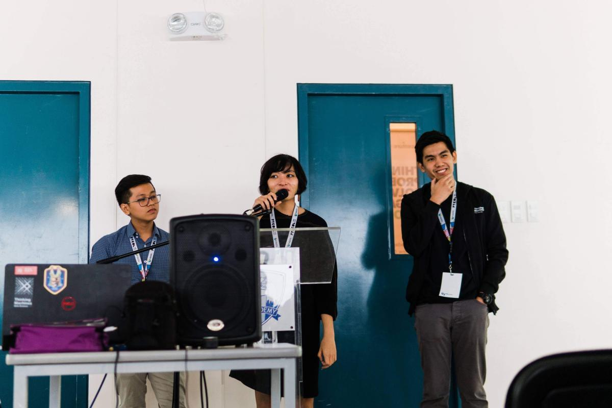 Satellite imagery and machine learning at PyCon APAC
