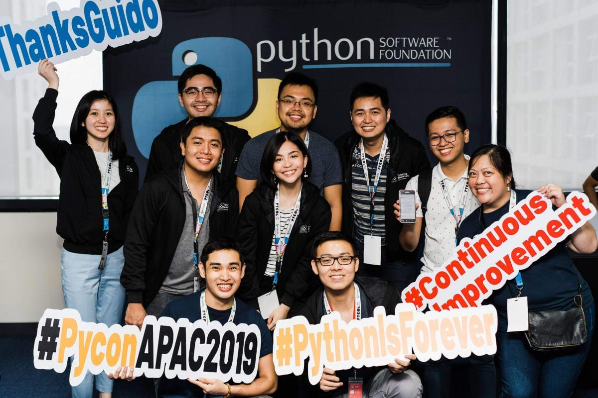 Thinking Machines at PyCon APAC