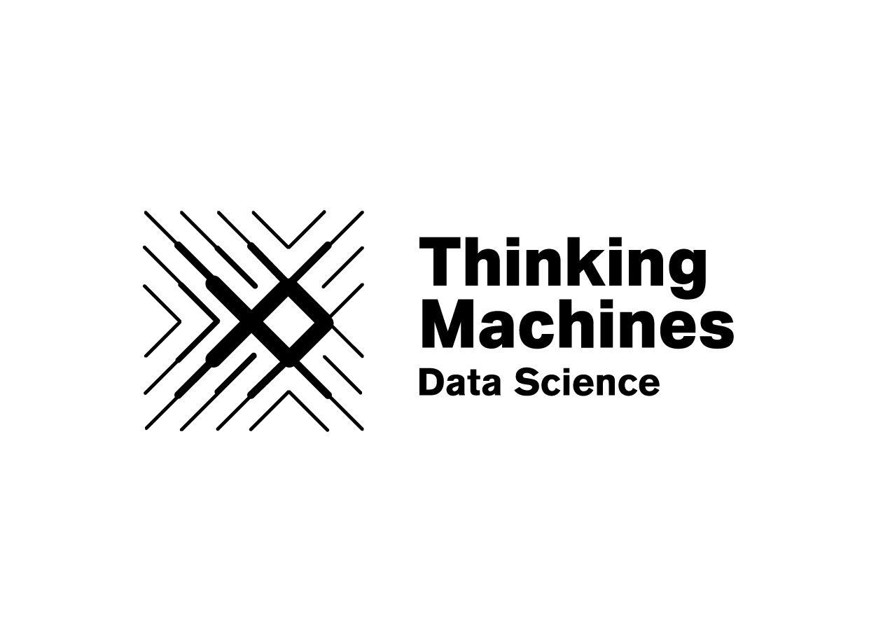 Thinking Machines Logo - Black