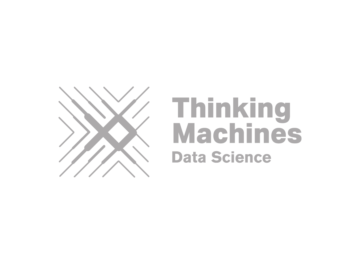 Thinking Machines Logo - Gray