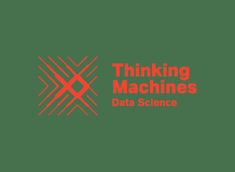 Thinking Machines Logo - Terracotta
